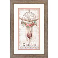 """70-35375 Набор для вышивания крестом DIMENSIONS Floral Dream Catche """"Цветочный ловец снов"""""""