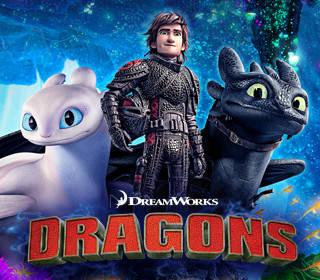 """Іграшки та фігурки з мультфільму """"Як приручити дракона"""""""