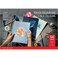 Папір тонований A3 Royal Talens холодні кольори 50 аркушів 180 г/м2, 91530051
