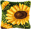 PN-0014176 Набор для вышивания ковровая техника Sunflowers Подсолнухи 40х40 (подушка)