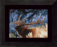 """PN-0021833 Набор для вышивки крестом LanArte Red Deer at Dawn """"Благородный олень на закате"""""""