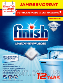 Finish Spülmaschinenpfleger Tabs Таблетки для чистки посудомоечных машин 12 шт.