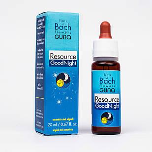 Цветы Баха Resource GoodNight GUNA (Италия). Для хорошего сна. Капли, 20 мл.