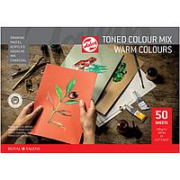 Папір тонований A3 Royal Talens теплі кольори 50 аркушів 180 г/м2, 91530061