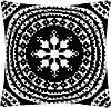 """PN-0155757 Набор для вышивания крестом Vervaco Black and White II """"Черный и белый II"""""""