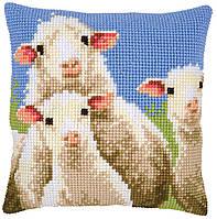 PN-0157426 Набір для вишивки Цікава вівця, 40х40, незліченний хрест Vervaco