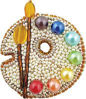 """БП-223 Набор для изготовления броши Crystal Art """"Палитра"""""""