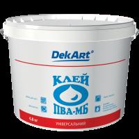 """Клей ПВА-МБ универсальный """"DekArt"""" -4,8кг"""
