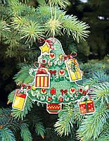 """Т-05 Набор для вышивания крестом Crystal Art Серия """"Новогодние игрушки"""""""