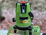 Лазерный уровень Procraft LE-3D зелёный луч, фото 3