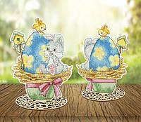 """Т-64 Набор для вышивания крестом Crystal Art Серия """"Светлой Пасхи! Пасхальный кролик"""""""