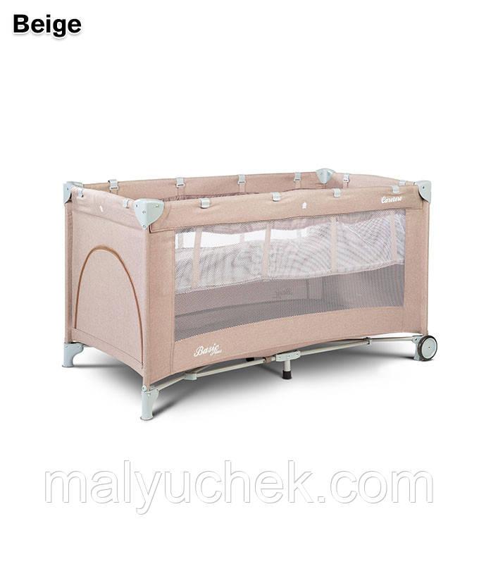 Дитяче ліжко манеж Caretero Basic Plus