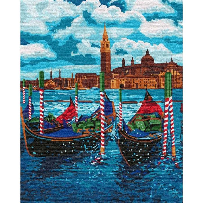 Картины по номерам Идейка 40х50 см Венецианское такси (КНО2749)