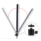 Кольцевая LED лампа 16 см селфи кольцо для блогера, фото 3