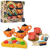 Посуд ыграшковий набір чайний на 3 персони RM8203-6-8