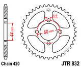 Звезда задняя стальная  JT JTR832.48 JT Sprockets, фото 2