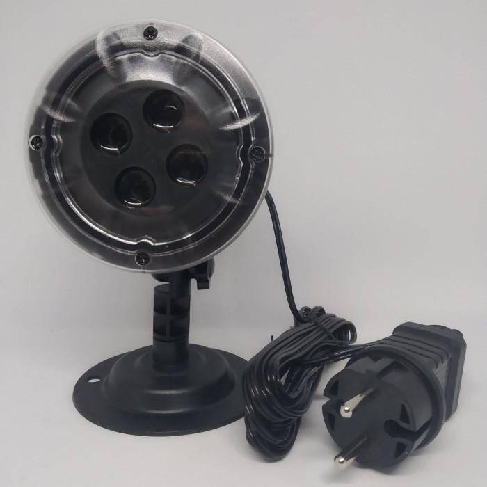 Вуличний лазерний проектор Star Shower SE326-02, Чорний