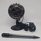 Вуличний лазерний проектор Star Shower SE326-02, Чорний, фото 4