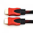 Кабель UKC HDMI - HDMI 20 м, Черный/Красный, фото 3
