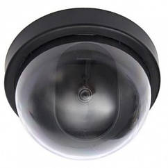 Купольная камера видеонаблюдения муляж, Черный