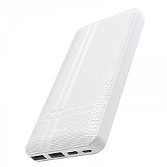 Внешний аккумулятор Hoco J48 Nimble 10000 Mah, Белый
