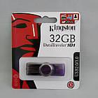 Флеш пам'ять USB Kingston 32GB, Фіолетовий, фото 4