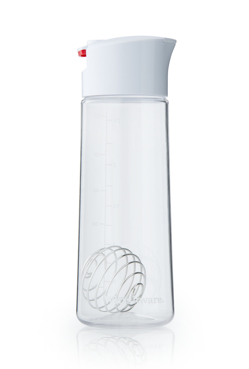 Універсальний блендер для приготування заправки до салату Blender Bottle Whiskware Dressing, Білий