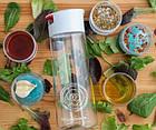 Універсальний блендер для приготування заправки до салату Blender Bottle Whiskware Dressing, Білий, фото 3