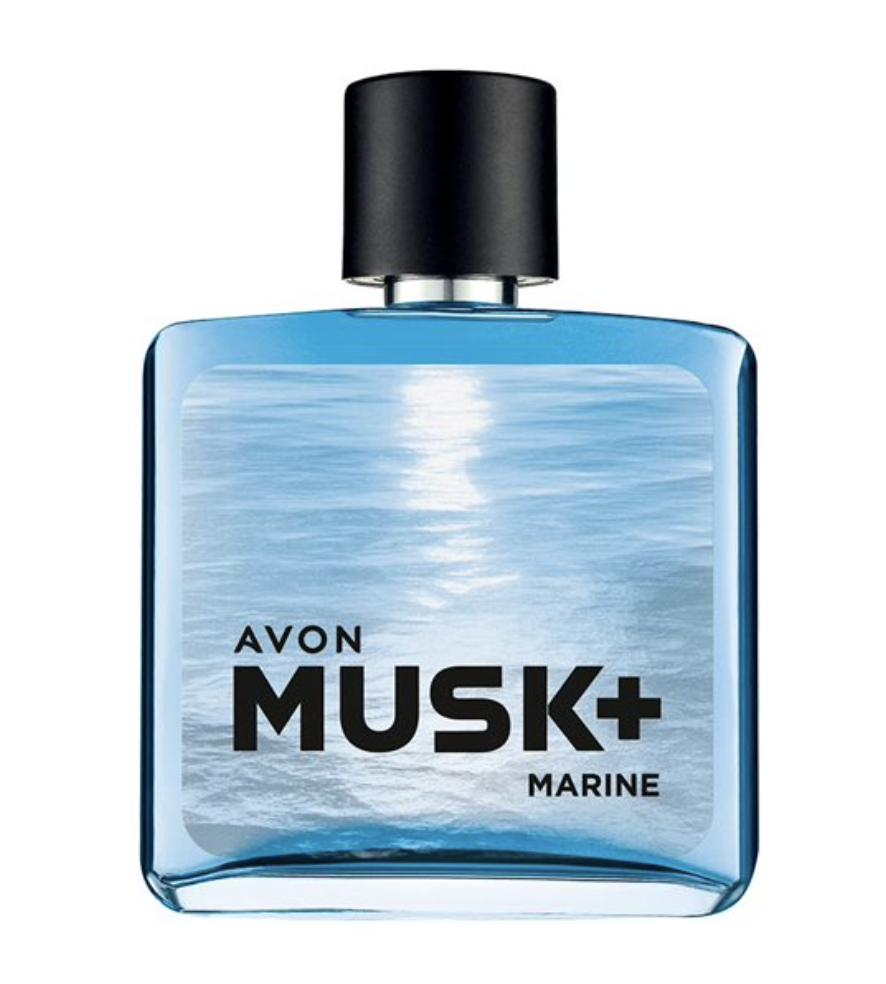 Avon Musk Marine Туалетная вода для него Маск Марине Эйвон (75 мл)