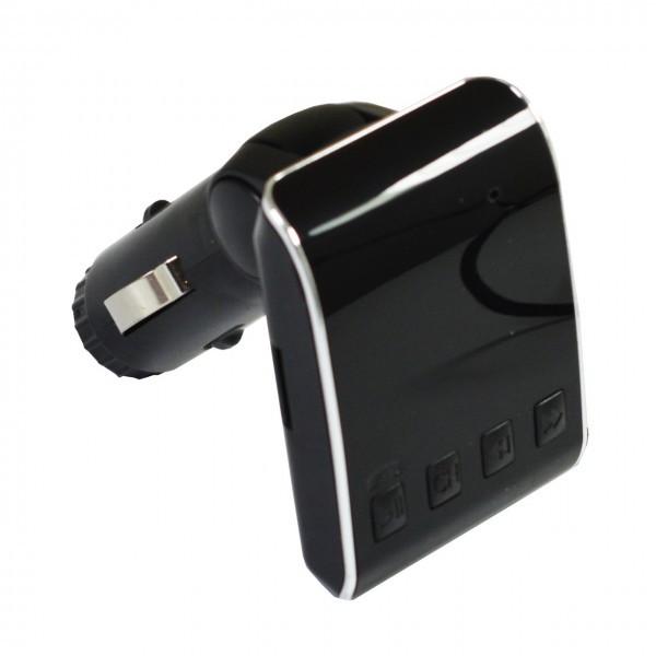 Автомобильный FM трансмиттер модулятор H22,  Black