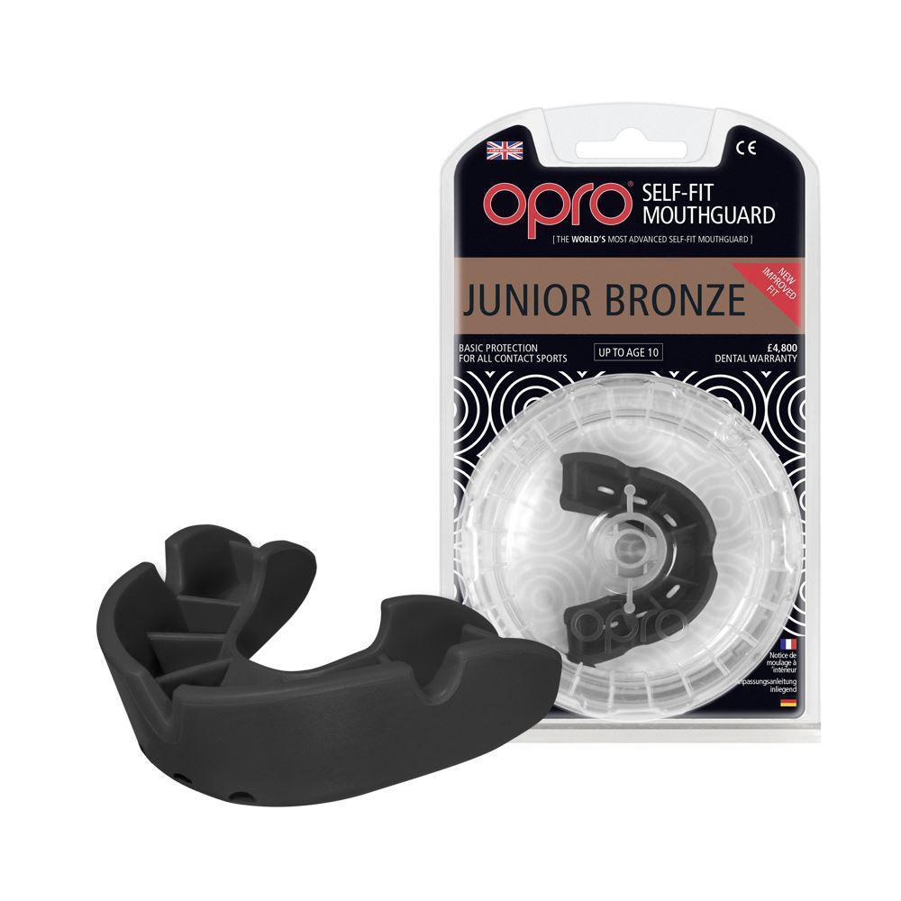 Капа OPRO Bronze Junior, Black