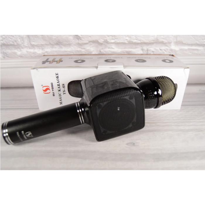 Бездротовий мікрофон 2 в 1 Magic Karaoke YS-68, Чорний