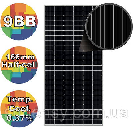 Солнечная батарея 450Вт моно, RSM144-7-450M Risen 9BB, фото 2