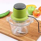 Блендер-измельчитель Молния Vegetable Mixer, Салатовый, фото 2