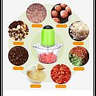 Блендер-измельчитель Молния Vegetable Mixer, Салатовый, фото 5