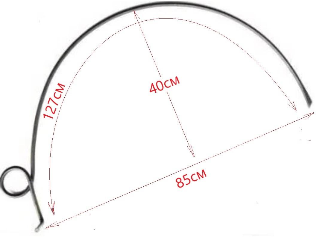 Граблина Конская ГПП диаметр 10 мм