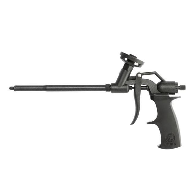 Пістолет для монтажної піни з повним тефлоновим покриттям професійний INTERTOOL PT-0606