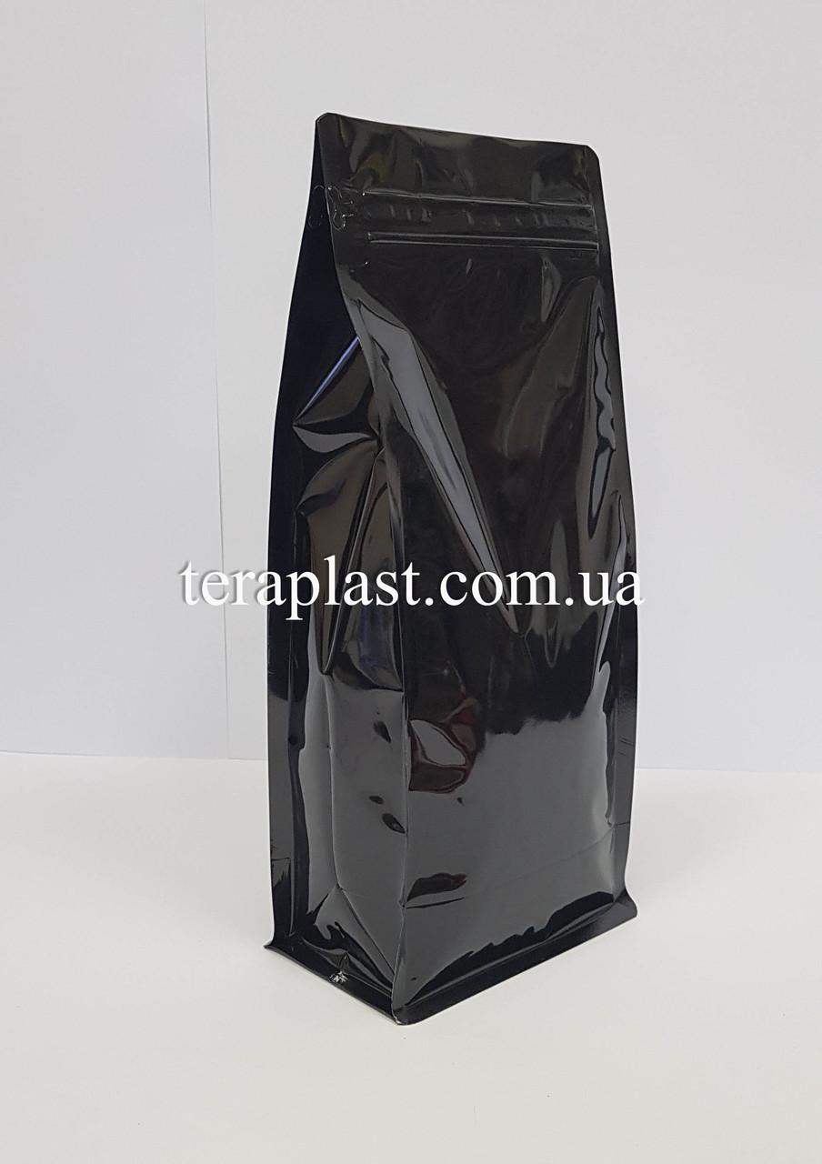 Пакет с плоским дном 1кг глянец 145х90х340 с боковой застежкой