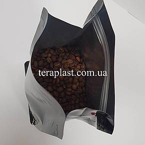 Пакет с плоским дном 1кг глянец 145х90х340 с боковой застежкой, фото 2
