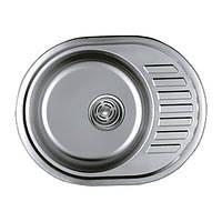 Мойка для кухни матовая Haiba 570x450 satin