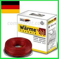 Теплый пол электрически 3,5 м2 Warme (Германия) Нагревательный кабель под плитку..