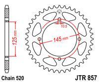 Звезда задняя стальная  JT JTR857.40 JT Sprockets