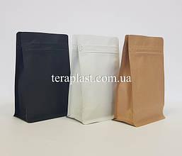 Пакеты с плоским дном и боковым зипом