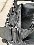 Сумка дорожная спортивная черная 40 л, фото 2