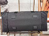 Сумка дорожная спортивная черная 40 л, фото 6