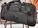 Сумка дорожная спортивная черная 40 л, фото 9
