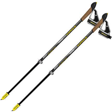 Палки для скандинавской ходьбы Vipole Vario Top-Click QL K.T. Silent DLX (S1947), фото 2