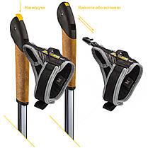 Палки для скандинавской ходьбы Vipole Vario Top-Click QL K.T. Silent DLX (S1947), фото 3