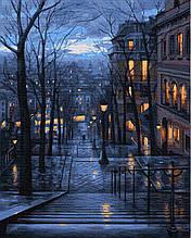 Картина за Номерами Нічна вулиця 40х50см RainbowArt