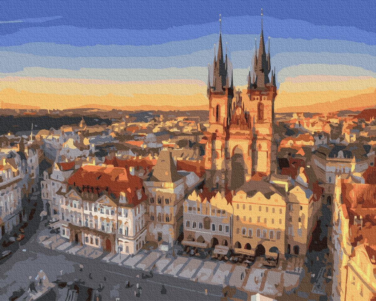 Картина за Номерами Прага 40х50см RainbowArt